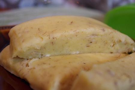 バナナとキャラメルのルクエ蒸しパン