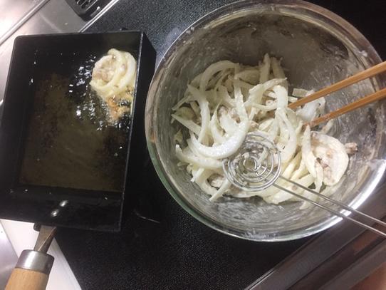天ぷら 卵焼きフライパン お弁当